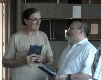 Marc Frans geeft Suzy haar film