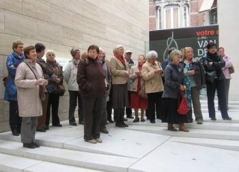 Rondleiding Museum M Leuven  '09