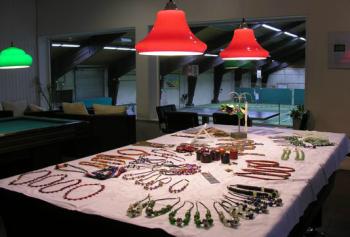 juwelenverkoop in AZUAclub  '10