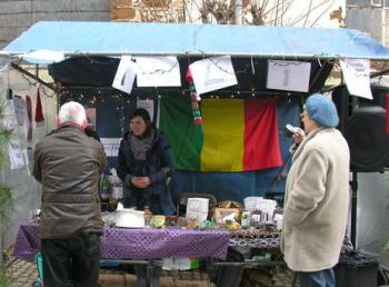 Begijnhof Diest Kerstmarkt met Thomas en Anne-Katrien