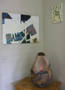 KID '11 Tine Ringelé  (schilderijen) Christiane Dewettinck (keramiek)
